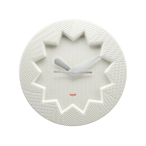 Kartell - Crystal Palace Wall Clock, white