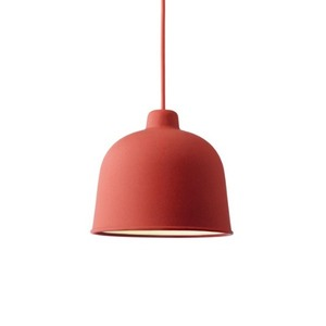 Muuto - Grain pendant lamp Red