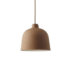 Muuto - Grain pendant lamp Brown