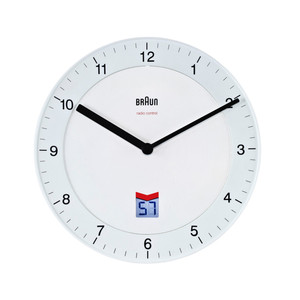 Braun - Analogue Funk Wall-Clock BNC006, white