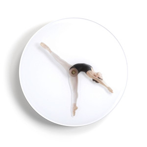 Klein & More - Time is Dancing wall clock