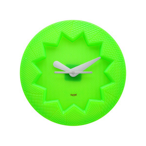 Kartell - Crystal Palace Wall Clock, green