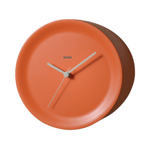 Alessi - Ora Out Edge Clock, orange