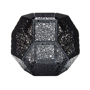 Tom Dixon etch votive candle black-1