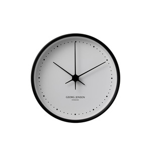 Georg Jensen - Henning Koppel Wall Clock Ø 10 cm, black / white