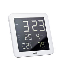 Braun - Digital radio Wall-Clock BNC014-RC, white