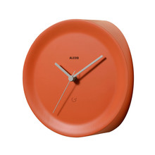 Alessi - Ora In Corner Clock, orange