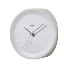Alessi - Ora In Corner Clock, white