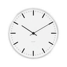 Rosendahl - AJ City Hall Wall Clock, Ø 21 cm