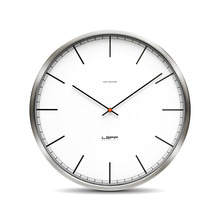 Leff amsterdam - One35rc Wall Clock wireless, index dial