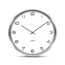Leff amsterdam - One35rc Wall Clock wireless, dial (with numbers)